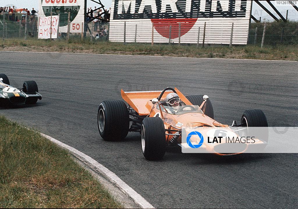 Zandvoort, Holland.19-21 June 1969.Bruce McLaren (McLaren M7C Ford).Ref-35mm 69 HOL 14.World Copyright - LAT Photographic