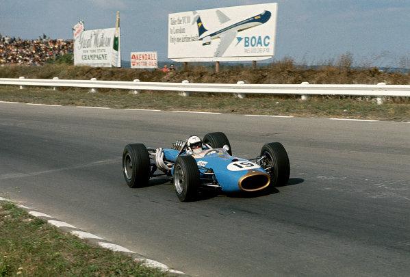Watkins Glen, New York, USA.30/9-1/10 1967.Guy Ligier (Brabham BT20 Repco).Ref-67 USA 21.World Copyright - LAT Photographic