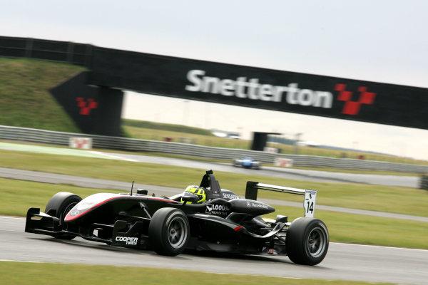 Snetterton, Norfolk. 3rd - 5th July 2009.Renger van der Zande (NED) - Hitech Racing Dallara Mercedes.World Copyright: Ebrey/LAT Photographic.