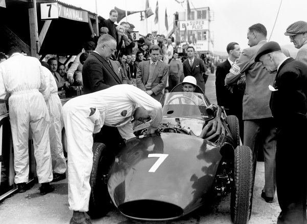 Goodwood, West Sussex, Great Britain. 22nd April 1957.