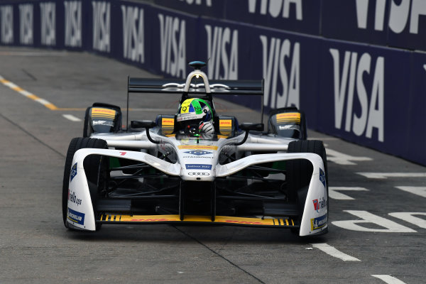 2017/2018 FIA Formula E Championship. Round 1 - Hong Kong, China. Saturday 02 December 2018. Lucas Di Grassi (BRA), Audi Sport ABT Schaeffler, Audi e-tron FE04. Photo: Mark Sutton/LAT/Formula E ref: Digital Image DSC_8392