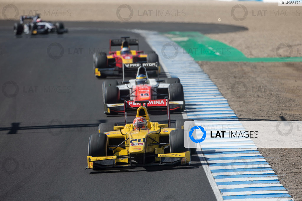 2017 FIA Formula 2 Round 10. Circuito de Jerez, Jerez, Spain. Sunday 8 October 2017. Norman Nato (FRA, Pertamina Arden).  Photo: Andrew Ferraro/FIA Formula 2. ref: Digital Image _FER3560