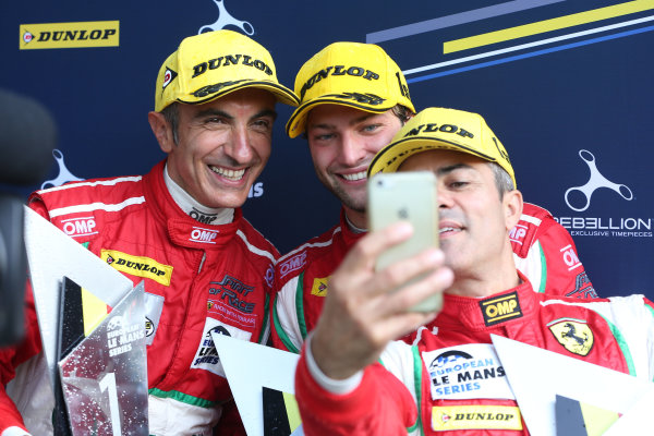 2017 European Le Mans Series  Spa-Franchorchamps, Belgium 22nd-24th September 2017 #51 Gianluca Roda (ITA) / Rino Mastronardi (ITA) / Andrea Bertolini (ITA) - SPIRIT OF RACE - Ferrari F488 GTE World copyright. JEP/LAT Images