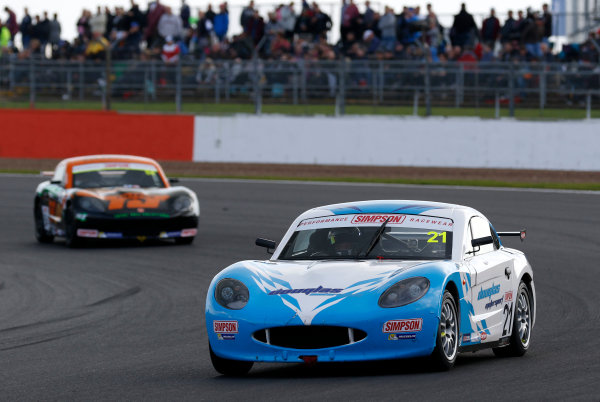 2017 Ginetta Junior Championship, Silverstone, Northants, UK. 16th-17th September 2017 Tom Canning Douglas Motorsport Ginetta Junior  World copyright. JEP/LAT Images