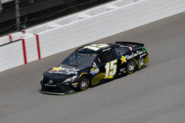 Monster Energy NASCAR Cup Series Pure Michigan 400 Michigan International Speedway, Brooklyn, MI USA Friday 11 August 2017 Derrike Cope, Premium Motorsports, StarCom Fiber Toyota Camry World Copyright: Logan Whitton LAT Images
