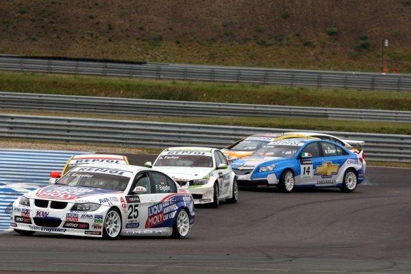Franz Engstler (GER) BMW 320si. World Touring Car Championship, Rd9, Oschersleben, Germany, 6 September 2009.