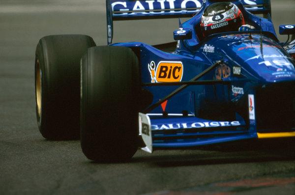Spa-Francorchamps, Belgium.22-24 August 1997.Shinji Nakano (Prost JS45 Mugen Honda) failed to finish after he spun off on lap 5.Ref-97 BEL 15.World Copyright - LAT Photographic