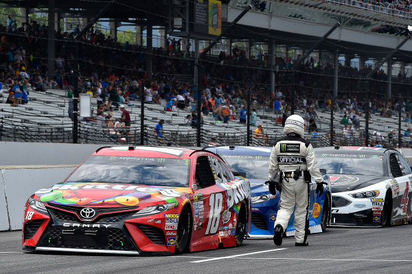 Monster Energy NASCAR Cup Series Brickyard 400 Indianapolis Motor Speedway,  Indianapolis, IN USA Sunday
