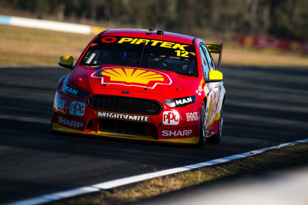 2017 Supercars Championship Round 8.  Ipswich SuperSprint, Queensland Raceway, Queensland, Australia. Friday 28th July to Sunday 30th July 2017. Fabian Coulthard, Team Penske Ford.  World Copyright: Daniel Kalisz/ LAT Images Ref: Digital Image 280717_VASCR8_DKIMG_8269.jpg