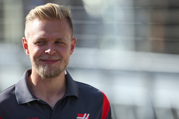 Hungaroring, Budapest, Hungary.  Friday 28 July 2017. Kevin Magnussen, Haas F1. World Copyright: Coates/LAT Images  ref: Digital Image AN7T1802