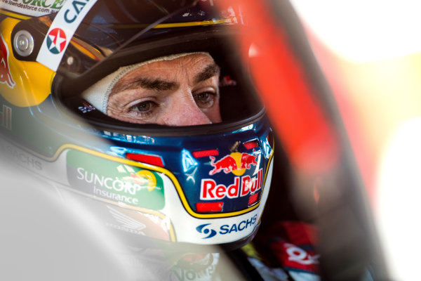 2017 Supercars Championship Round 6.  Darwin Triple Crown, Hidden Valley Raceway, Northern Territory, Australia. Friday June 16th to Sunday June 18th 2017. Craig Lowndes driver of the #888 TeamVortex Holden Commodore VF. World Copyright: Daniel Kalisz/LAT Images Ref: Digital Image 180617_VASCR6_DKIMG_4524.jpg