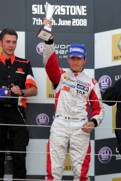 Andrea Caldarelli (ITA) SG Formula  3rd. Formula Renault Euro Cup, Silverstone, England. 08 June 2008