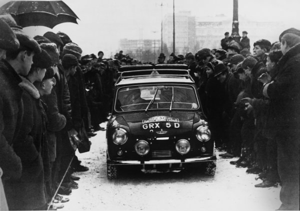 1966 Monte Carlo Rally.