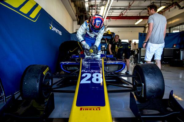2016 GP3 Series Test 5. Yas Marina Circuit, Abu Dhabi, United Arab Emirates. Wednesday 30 November 2016. Steijn Schothorst (NED, DAMS)  Photo: Zak Mauger/GP3 Series Media Service. ref: Digital Image _L0U3286