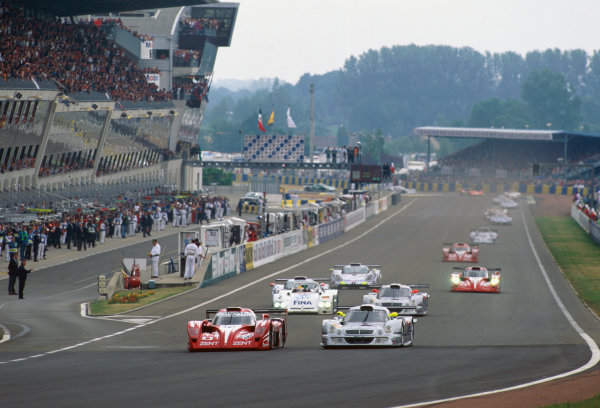 1998 Le Mans 24 Hours.