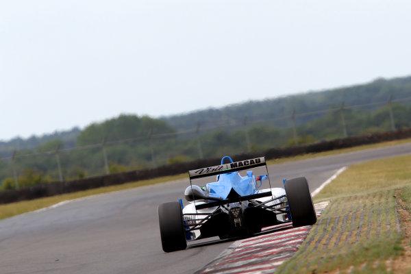 2014 British F3 International Series, Snetterton, Norfolk. 20th - 22nd June 2014. Andy Chang (MAC) Double R Racing Dallara Mercedes. World Copyright: Ebrey / LAT Photographic.