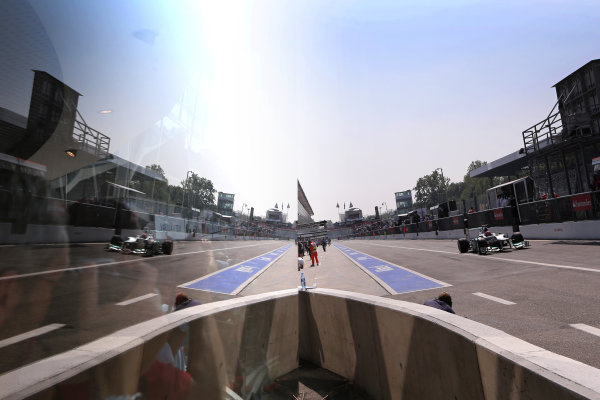 Autodromo Nazionale di Monza, Monza, Italy. 7th September 2012. Michael Schumacher, Mercedes F1 W03.  World Copyright: Steve Etherington/LAT Photographic ref: Digital Image SNE14512 copy