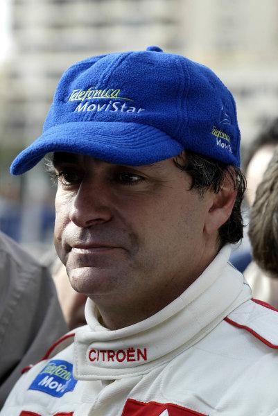 2003 FIA World Rally Championship. Monte Carlo, Monaco. Rd1.23-26 January 2003.Carlos Sainz (Citroen) 3rd position. World Copyright: McKlein/LAT Photographic