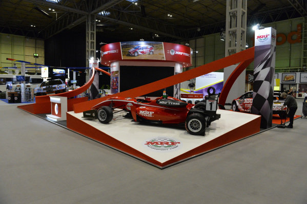 The MRF stand.
