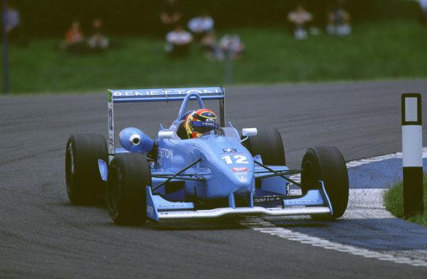 2000 British Formula Three Donington, England. 1st - 2nd July 2000. Rd 7&8. Race 2 winner Nicolas Kiesa, action. World - Peter Spinney/ LAT Photographic