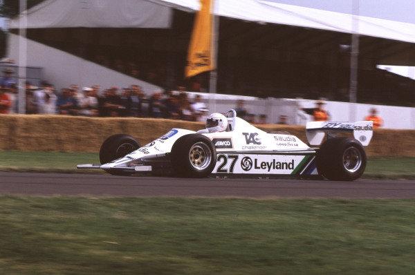 2000 Festival of Speed.Goodwood, England, Great Britain. 23-25 June 2000. Alan Jones (Williams FW07B-Ford Cosworth). World Copyright - LAT Photographic