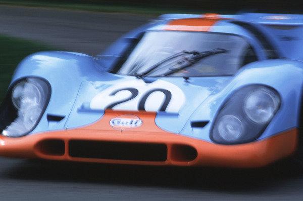 2000 Festival of Speed.Goodwood, England, Great Britain.23-25 June 2000. Gulf Porsche 917. World - LAT Photographic