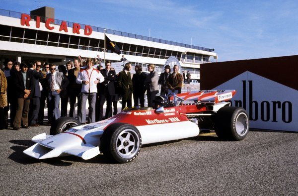 The BRM P160B is launched, complete with new sponsorship from Marlboro, with Peter Gethin (GBR) at the wheel.