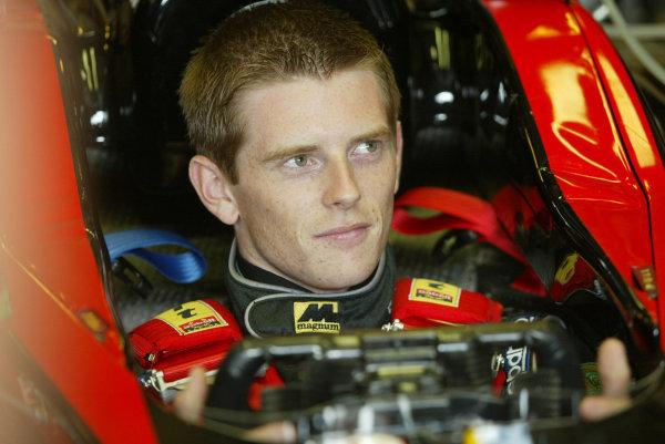 2002 Hungarian Grand Prix - PreviewBudapest, Hungary. 15th August 2002.Anthony Davidson.World Copyright: Steve Etherington/LATref: Digital Image Only
