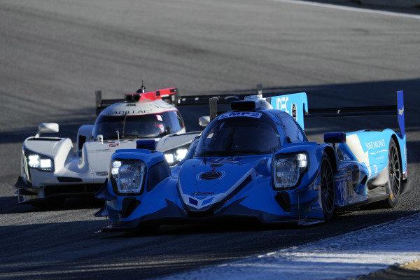 #18: Era Motorsport ORECA LMP2 07, LMP2: Dwight Merriman, Ryan Dalziel, #01: Cadillac Chip Ganassi Racing Cadillac DPi, DPi: Renger van der Zande, Kevin Magnussen