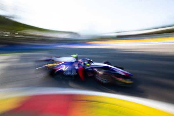 SPA-FRANCORCHAMPS, BELGIUM - AUGUST 30: Ralph Boschung (CHE, TRIDENT) during the Spa-Francorchamps at Spa-Francorchamps on August 30, 2019 in Spa-Francorchamps, Belgium. (Photo by Joe Portlock / LAT Images / FIA F2 Championship)