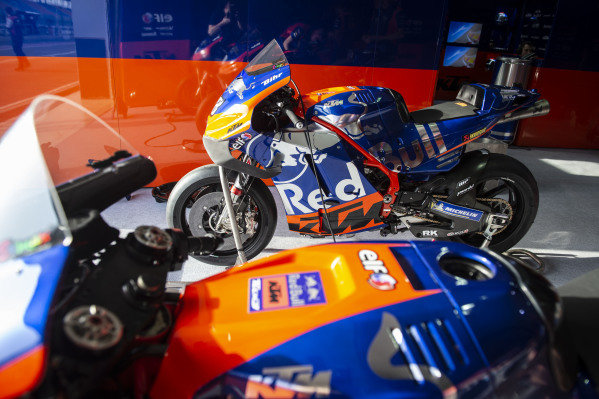 Red Bull KTM Tech 3 Bike.