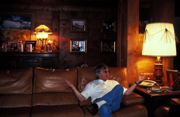 FOCA President Bernie Ecclestone (GBR) relaxes on holiday.