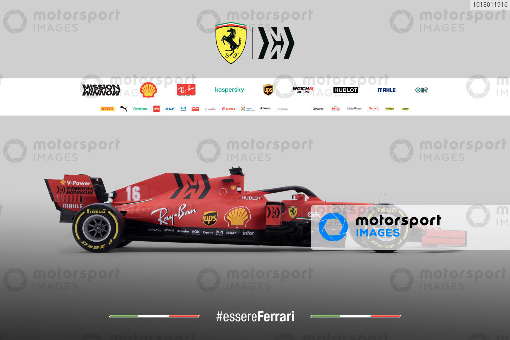 Ferrari livery unveil