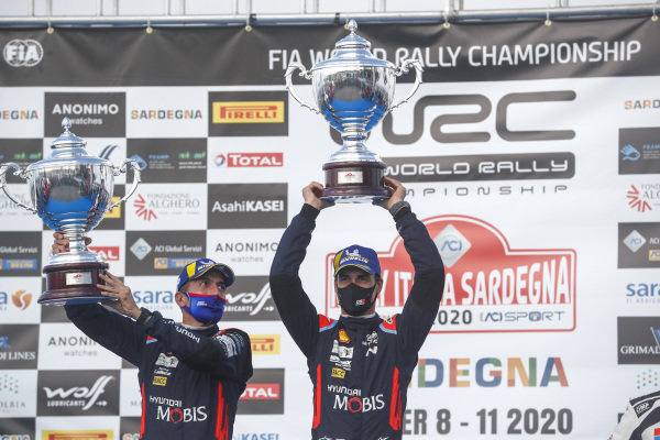Dani Sordo (ESP), Carlos del Barrio (ESP), Hyundai World Rally Team, Hyundai i20 Coupe WRC 2020,