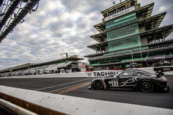 #63 Mercedes AMG GT3 of David Askew, Ryan Dalziel, and Ben Keating, DXDT Racing, GT3 Pro-Am