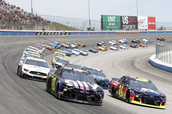 #48: Jimmie Johnson, Hendrick Motorsports, Chevrolet Camaro Ally #24: William Byron, Hendrick Motorsports, Chevrolet Camaro Axalta/Primeline