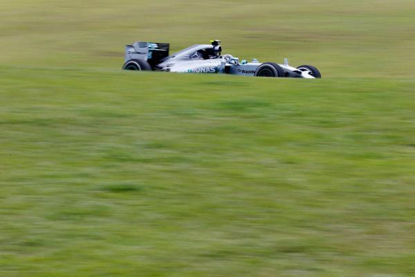 Interlagos, Sao Paulo, Brazil. Friday 7 November 2014. Nico Rosberg, Mercedes F1 W05 Hybrid. World Copyright: Steven Tee/LAT Photographic. ref: Digital Image _L4R1204
