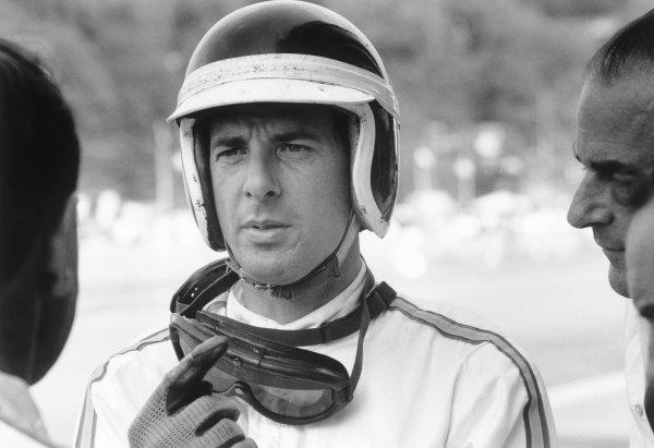 1966 Belgian Grand Prix. Spa-Francorchamps, Belgium. 12th June 1966. Vic Wilson (BRM P261), portrait.  World Copyright: LAT Photographic. Ref:  347A - 31A.