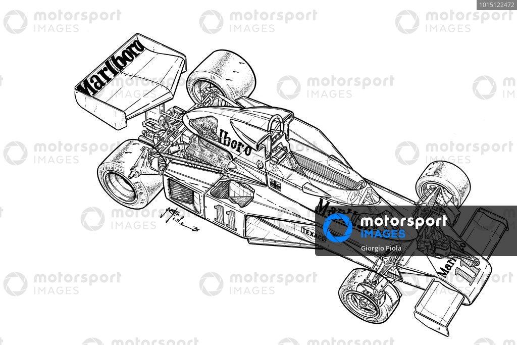 McLaren M23B 1976 detailed overview