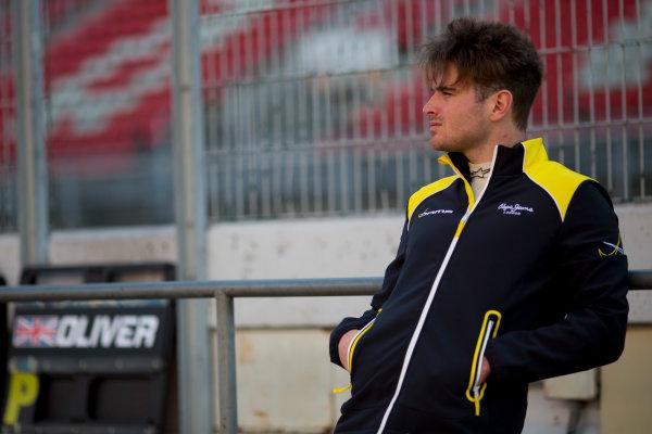 Circuit de Barcelona Catalunya, Barcelona, Spain. Tuesday 14 March 2017. Oliver Rowland (GBR, DAMS). Photo: Alastair Staley/FIA Formula 2 ref: Digital Image 585A7904