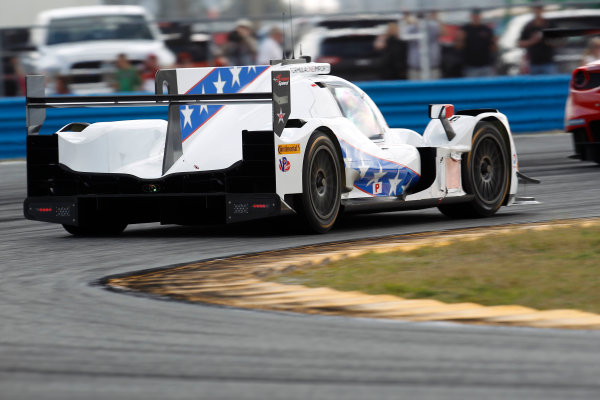 2017 Rolex 24 Hours. Daytona, Florida, USA Thursday 26 January 2017. #81 DragonSpeed ORECA 07: Henrik Hedman, Nicolas Lapierre, Ben Hanley, Loic Duval World Copyright: Alexander Trienitz/LAT Images ref: Digital Image 2017-24h-Daytona-AT2-0364