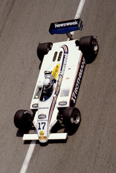 1982 Monaco Grand Prix.Monte Carlo, Monaco.20-23 May 1982.Jochen Mass (March 821 Ford).Ref-82 MON 88.World Copyright - LAT Photographic