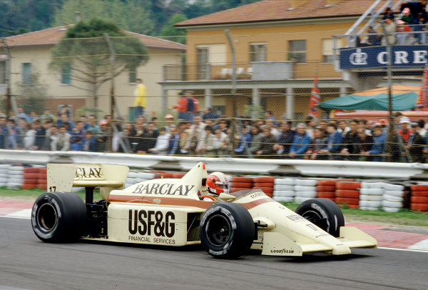 1986 San Marino Grand Prix. 