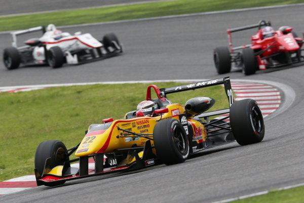 2016 Japanese Formula 3 Championship. Suzuka, Japan. 23rd - 24th April 2016. Rd 1 & 2. Rd. 1 2nd position Jann Mardenborough ( #22 B-MAX NDDP F3 ) action World Copyright: Masahide Kamio / LAT Photographic. Ref: 2016JF3_Rd1&2_06