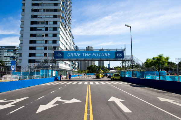 2015/2016 FIA Formula E Championship. Buenos Aires ePrix, Buenos Aires, Argentina. Friday 5 February 2016. A view of the track. Photo: Zak Mauger/LAT/Formula E ref: Digital Image _L0U9717