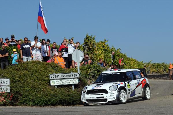 Round 11-Rallye de France. 29/9-02/10 2011.Pierre Campana, Mini WRC, Action.Worldwide Copyright: McKlein/LAT