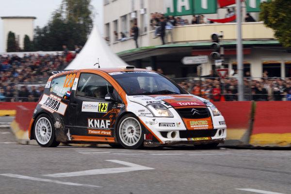 Round 11Rally de France 30/9-3/10Hans Weijs Jr, Citroen JWRC, Action.Worldwide Copyright: McKlein/LAT