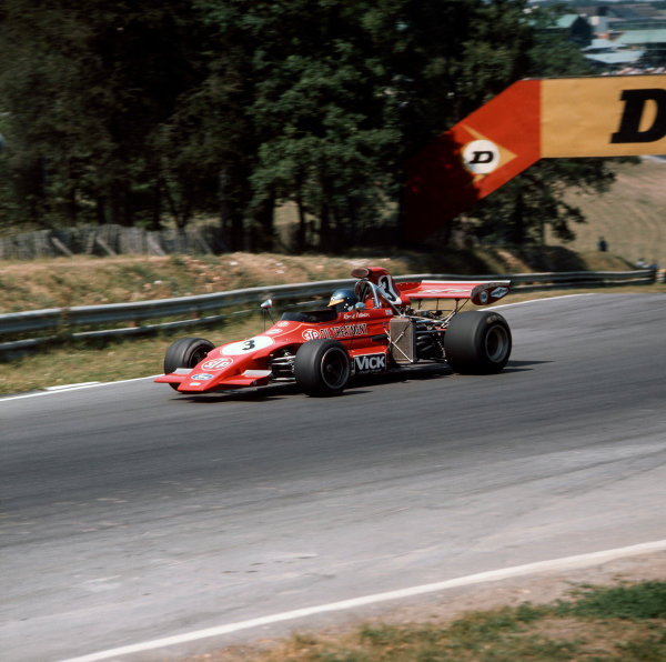 Brands Hatch, England. 13-15 July 1972. Ronnie Peterson (March 721G Ford). Ref-3/5100H. World Copyright - LAT Photographic