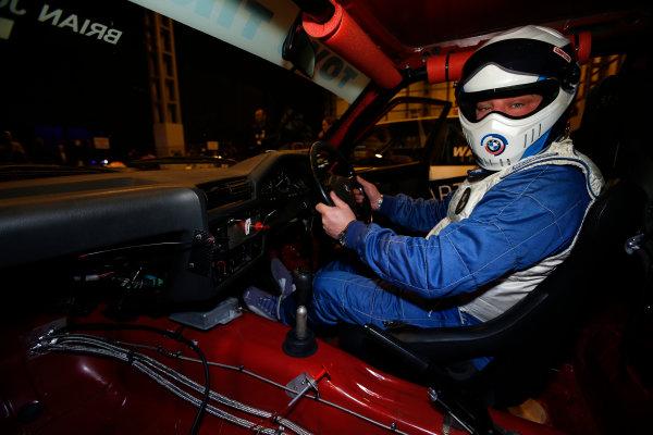 Autosport International Show NEC, Birmingham.  Sunday 12 January 2014. Behind the scenes in the Live Action Arena.  World Copyright:Sam Bloxham/LAT Photographic ref: Digital Image _SBL2475