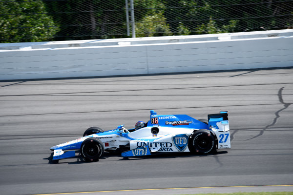 Verizon IndyCar Series ABC Supply 500 Pocono Raceway, Long Pond, PA USA Monday 21 August 2017 Marco Andretti, Andretti Autosport with Yarrow Honda World Copyright: Gregg Feistman LAT Images